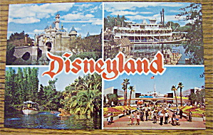 Disneyland Postcard (Magic Kingdom & More)