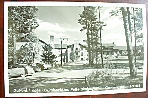DuPont Lodge, Cumberland Falls State Park Postcard  (Image1)