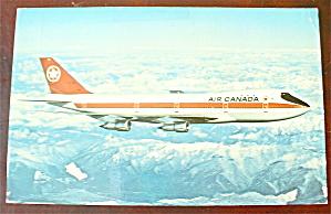 Air Canada Plane Postcard (Boeing 747) (Image1)