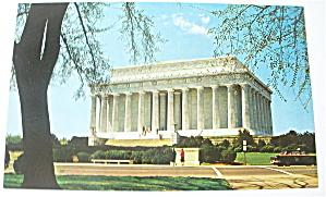The Lincoln Memorial Postcard (Image1)