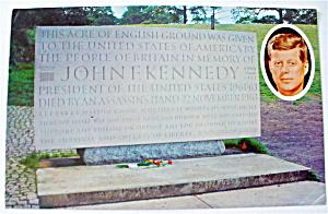 John F. Kennedy Grave Site Postcard (Image1)