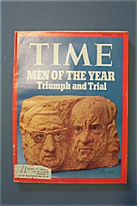 Time Magazine - January 1, 1973 - Men Of The Year