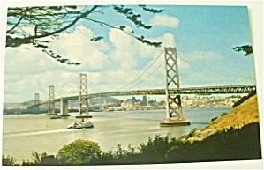 San Francisco Oakland Bay Bridge Postcard (Image1)