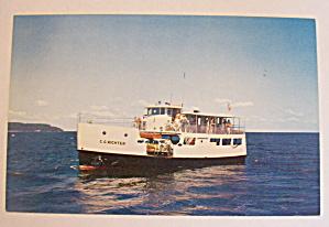 Washington Island Ferry Postcard (Image1)