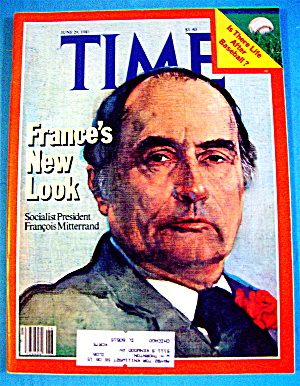 Time Magazine-June 29, 1981-Francois Mitterrand (Image1)