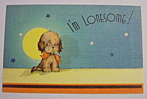 I'm Lonesome Postcard (Image1)