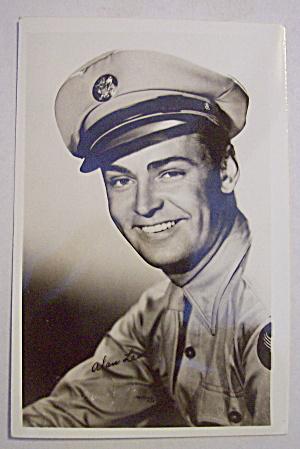 Alan Ladd Movie Star Postcard (Image1)