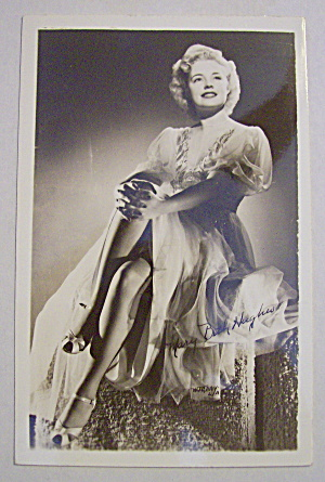 Mary Beth Hughes Postcard (Image1)