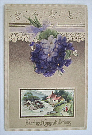 A Cabin In The Forest Postcard (Image1)