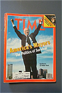 Time Magazine-June 15, 1981-Ed Koch of New York (Image1)