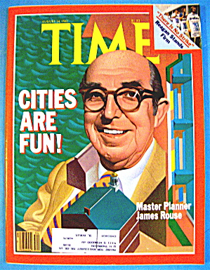 Time Magazine-August 24, 1981-James Rouse (Image1)