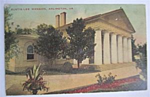 Curtis Lee Mansion, Arlington, Virginia Postcard (Image1)