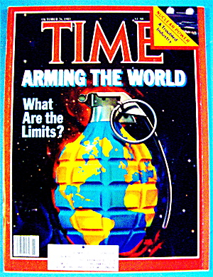 Time Magazine-october 26, 1981-arming The World