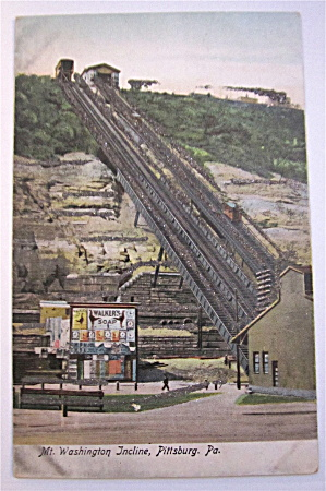 Mt. Washington Incline Postcard (Image1)