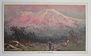 Mt. Hood, Oregon Postcard (Image1)