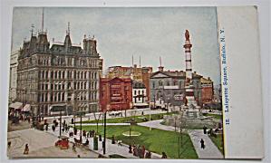 Lafayette Square, Buffalo, New York Postcard (Image1)