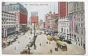 Times Square, New York Postcard (Image1)