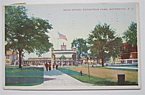 Band Stand, Exposition Park, Rochester N. Y. Postcard (Image1)