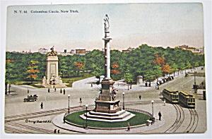 Columbus Circle, New York Postcard (Image1)