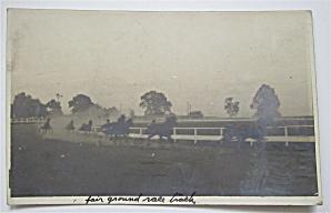 Fair Ground Race Track Postcard (Image1)