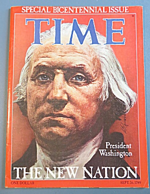 Time Magazine-September 26, 1789-Special Bicentennial (Image1)