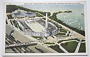 Grant Park, Chicago, Illinois Postcard (Image1)