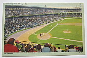 Comiskey Park, Chicago, Illinois Postcard (Image1)