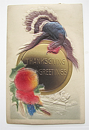 Thanksgiving Greetings Postcard (Image1)