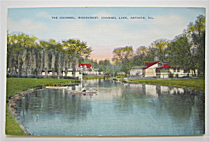 The Channel, Antioch, Illinois Postcard (Image1)