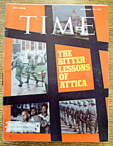 Time Magazine - September 27, 1971