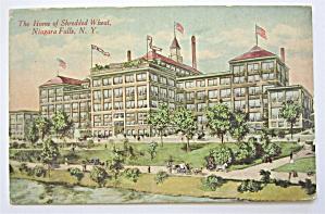 Home of Shredded Wheat. Niagara Falls, N.Y. Postcard (Image1)
