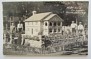 Model House Zoo Gardens, House Of David Postcard (Image1)