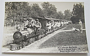 Miniature Railway At House of David's Park Postcard (Image1)