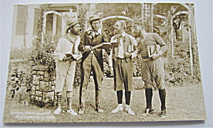 House of David Quartet Postcard (Image1)
