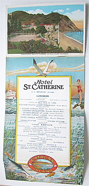 Catalina Island & Hotel St. Catherine, California (Image1)