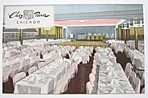 Chez Paree, Chicago, Illinois Postcard (Image1)