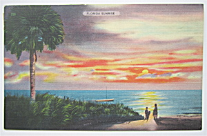 Florida Sunrise Postcard (Image1)