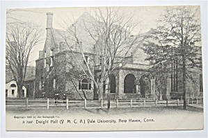 Dwight Hall, Vale University Postcard (New Haven, Conn) (Image1)