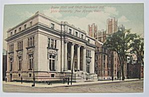 Byers Hall And Sheff Vanderbilt Postcard (Image1)