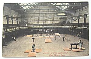 Interior Of Yale Gymnasium Postcard (Image1)