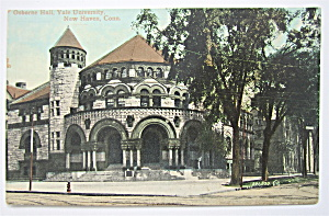Osborne Hall Postcard (Yale University, New Haven) (Image1)