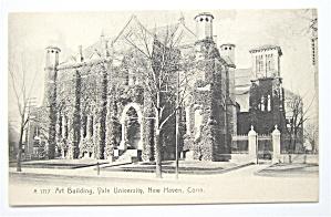 Art Building, Yale University, New Haven, Conn Postcard (Image1)