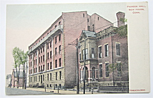 Pierson Hall Postcard (New Haven, Conn) (Image1)