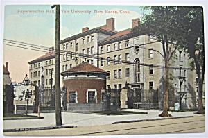 Yale University (Fayerweather Hall) Postcard (Image1)