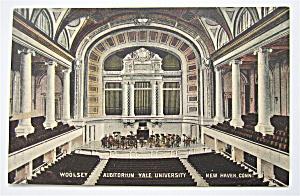 Yale University Postcard (Woolsey Auditorium) (Image1)