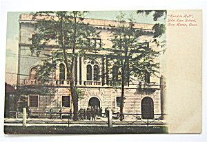 Hendrie Hall Postcard (Yale Law School) (Image1)
