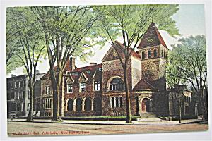 Yale University Postcard (St. Anthony Hall) (Image1)