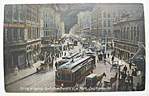 Spring St. Postcard (Looking South) (Image1)