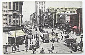 Market Street, San Francisco Postcard (Image1)