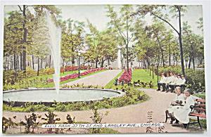 Ellis Park Postcard (Chicago) (Image1)